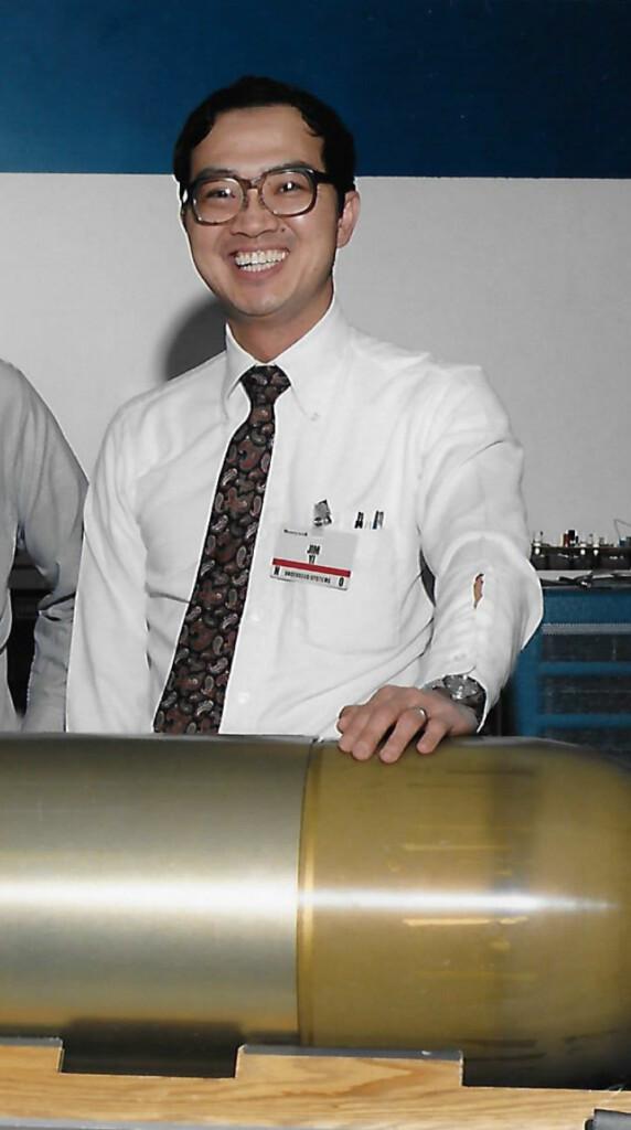 James Yi at work