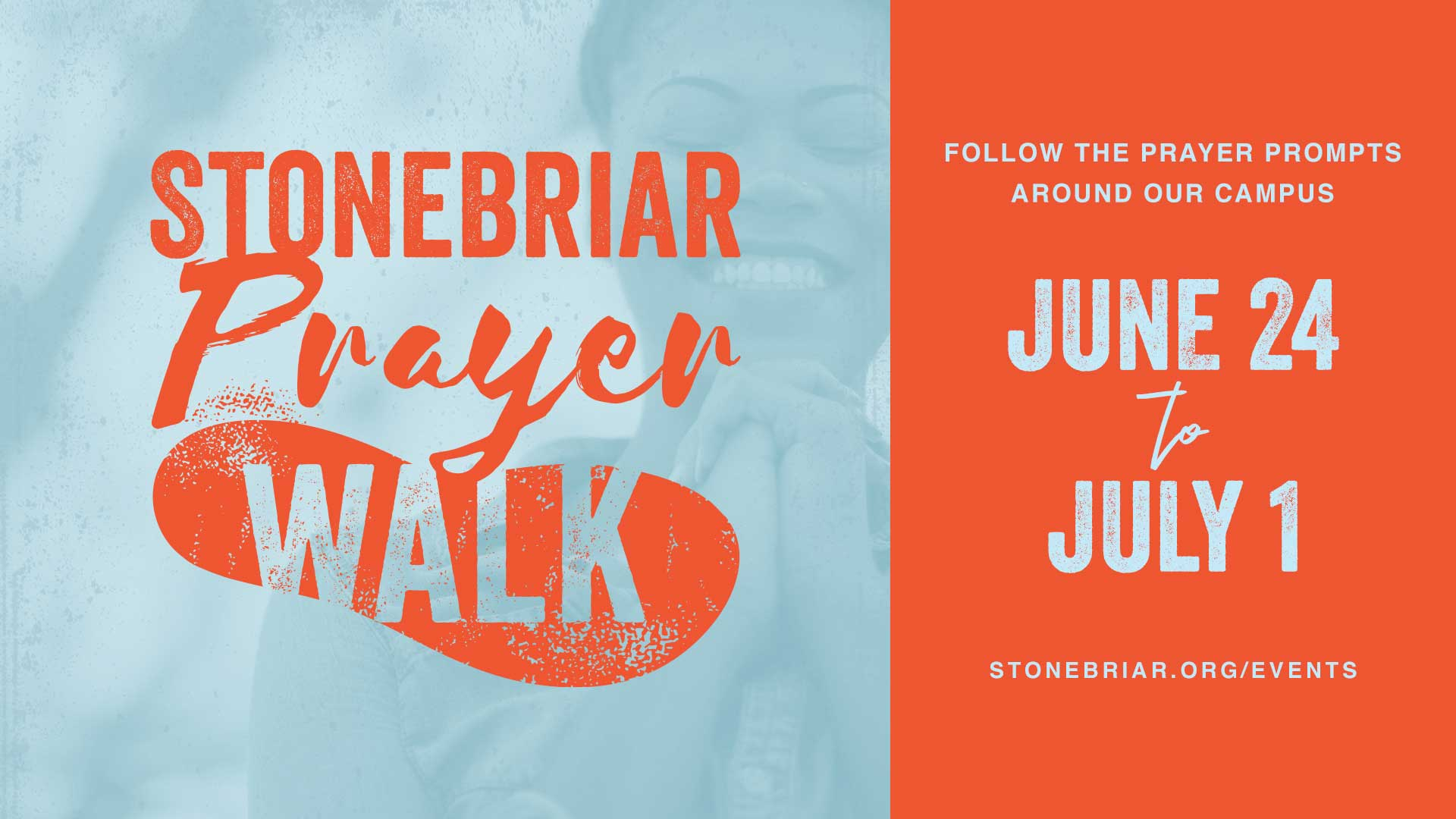 Stonebriar Prayer Walk