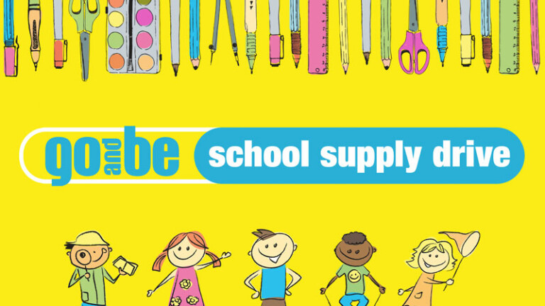 Go and Be School Supply Drive