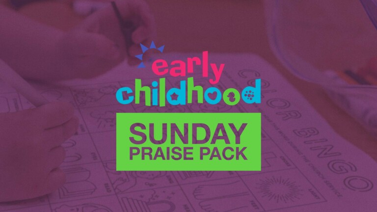 Early Childhood Sunday Praise Pack