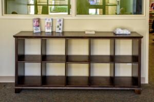 Special Needs Storage Cubbies