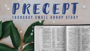 Precepto Estudio Bíblico del Jueves