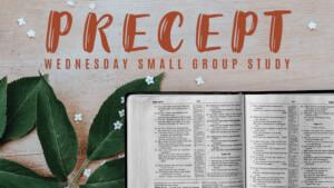 Precept Wednesday Bible Study