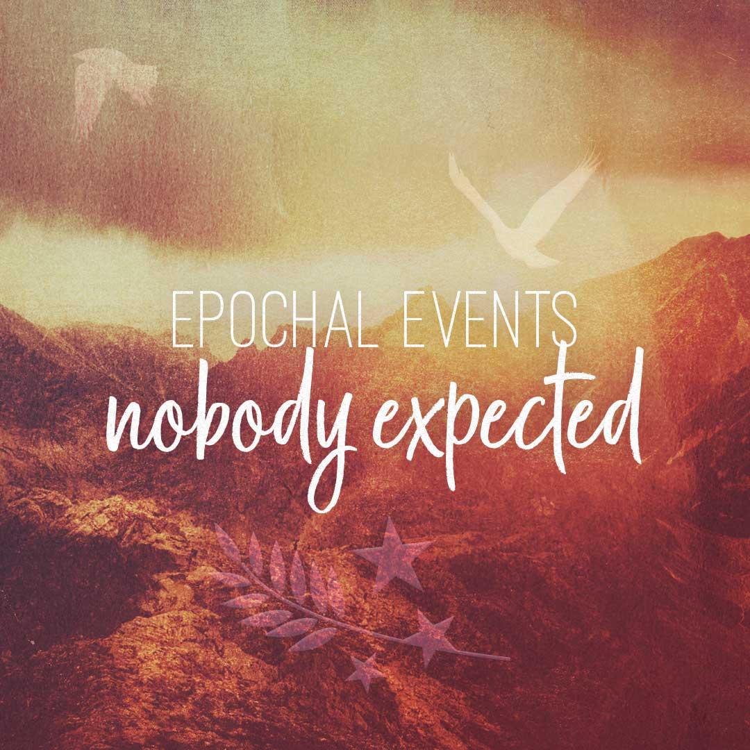 Eventos de época que nadie esperaba