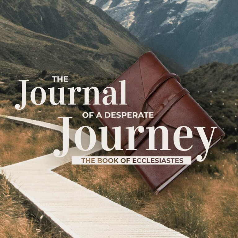 Ecclesiastes: Journal of a Desperate Journey