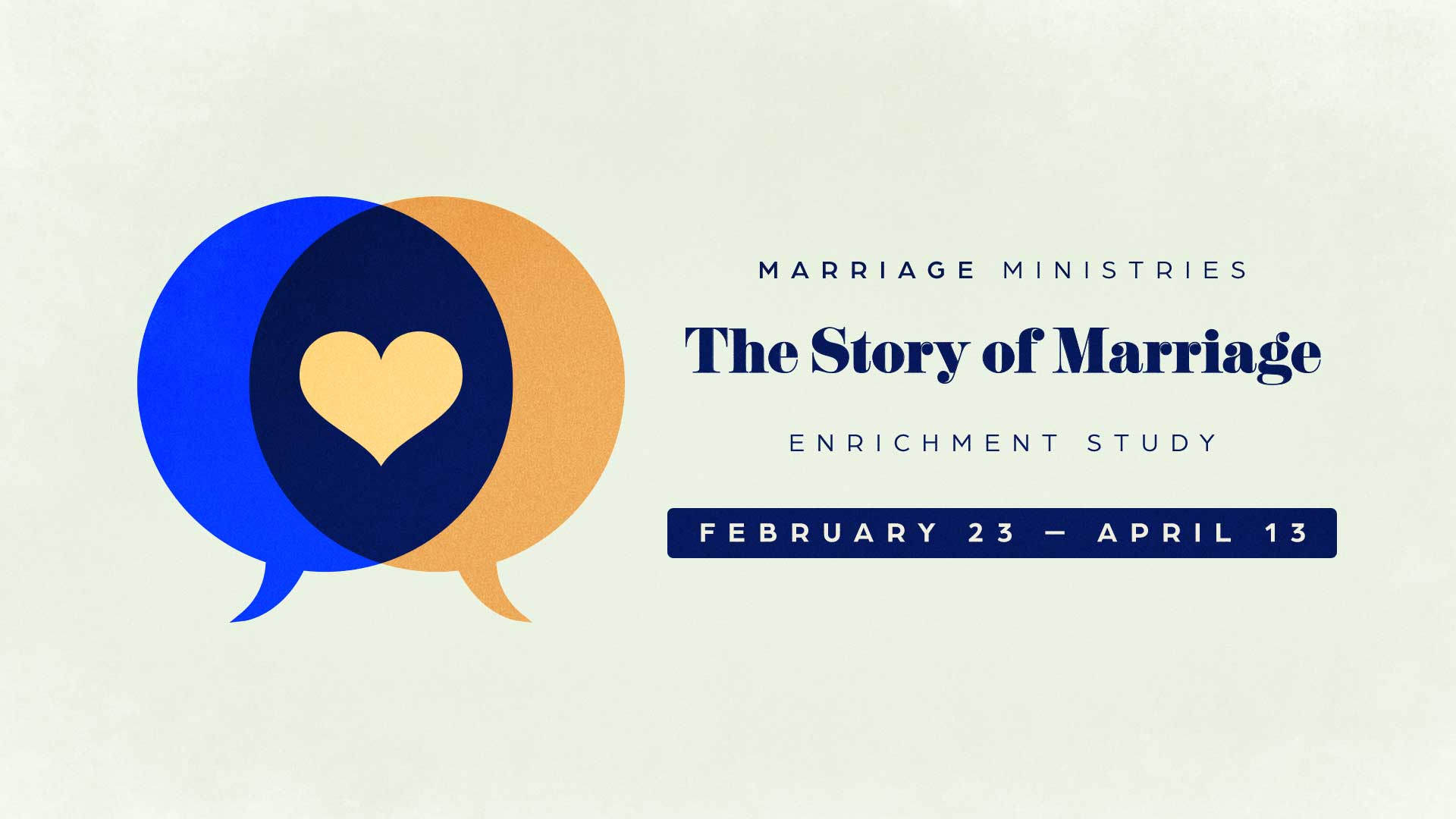 'The Story of Marriage' study