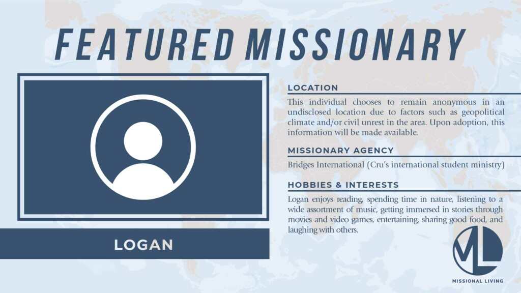 Featured Missionary: Logan