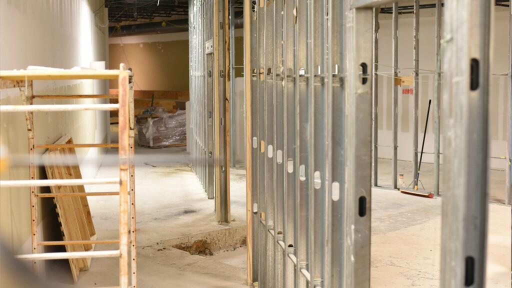 Construction: New Walls