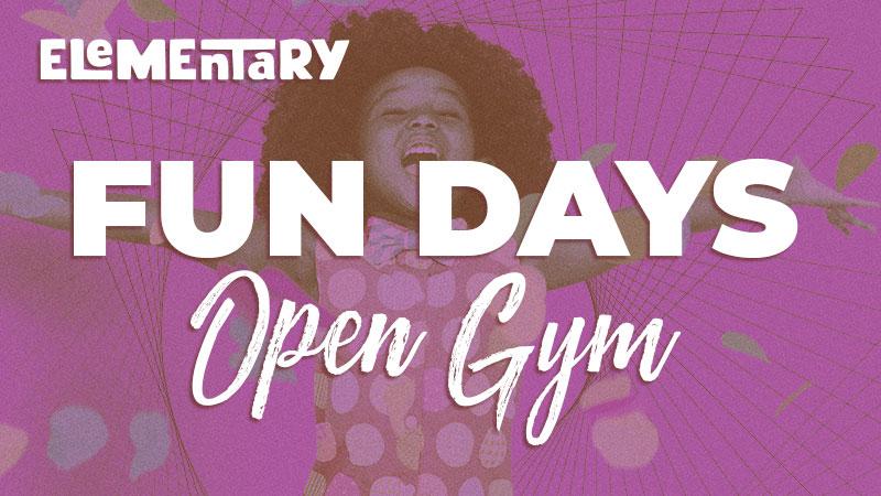 Elementary Fun Days: Open Gym