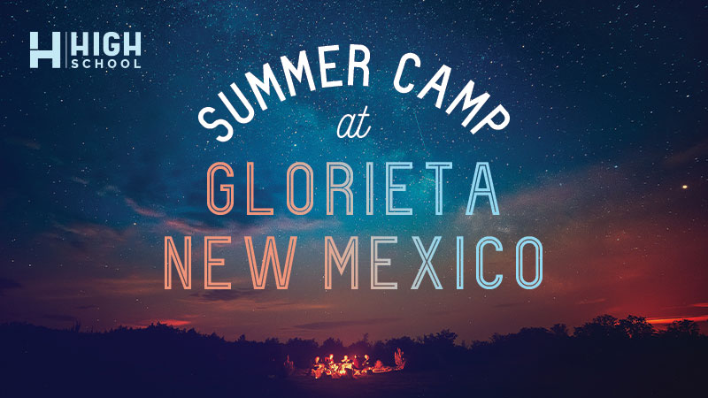 Summer Camp at Glorieta New Mexico