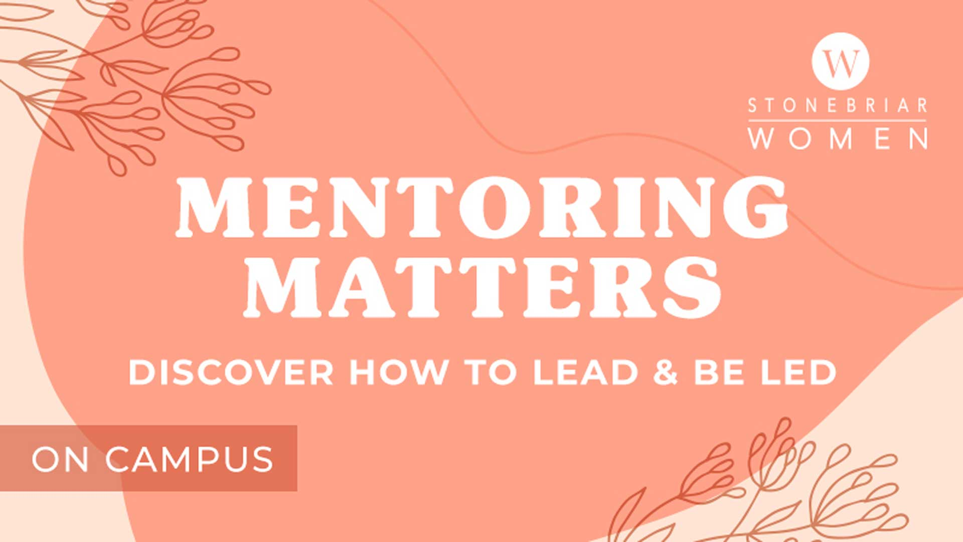 Mentoring Matters Women's Connection Group