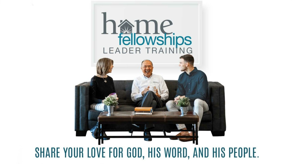 Home Fellowships Leader Training