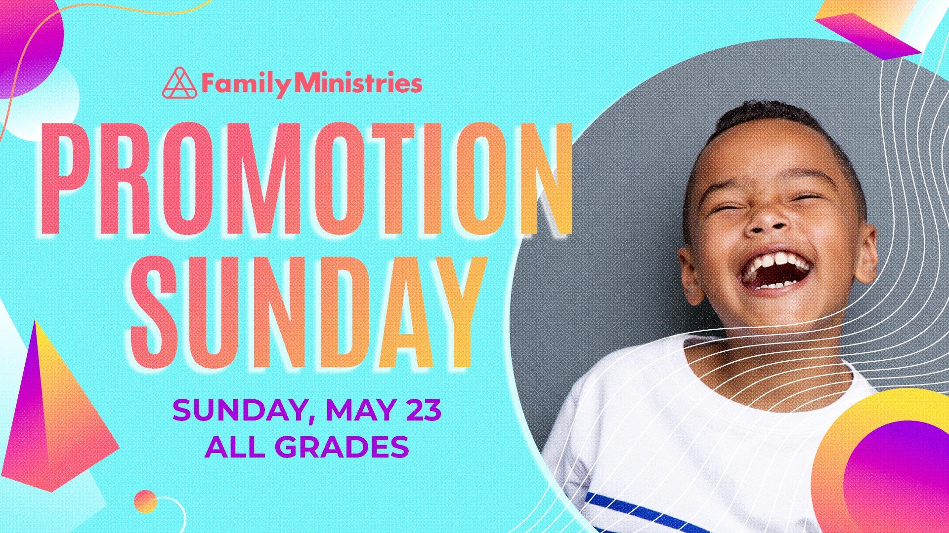 Promotion Sunday 2021