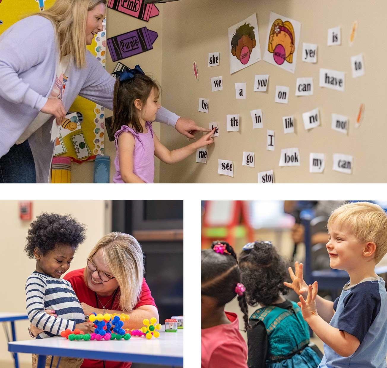 fotos: Clases y estudiantes de Preescolar Pals