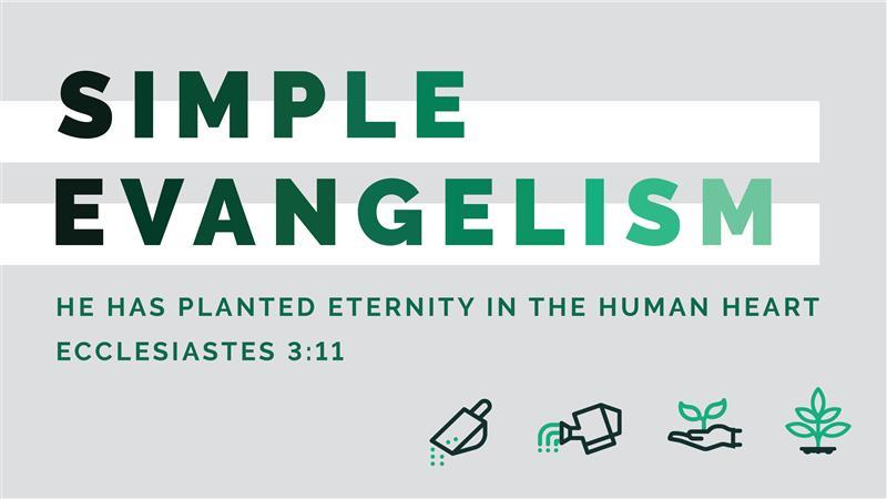 Simple Evangelism Class