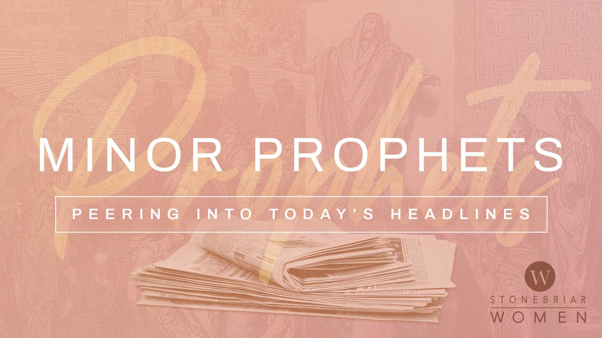 Women's Bible Study of the Minor Prophets