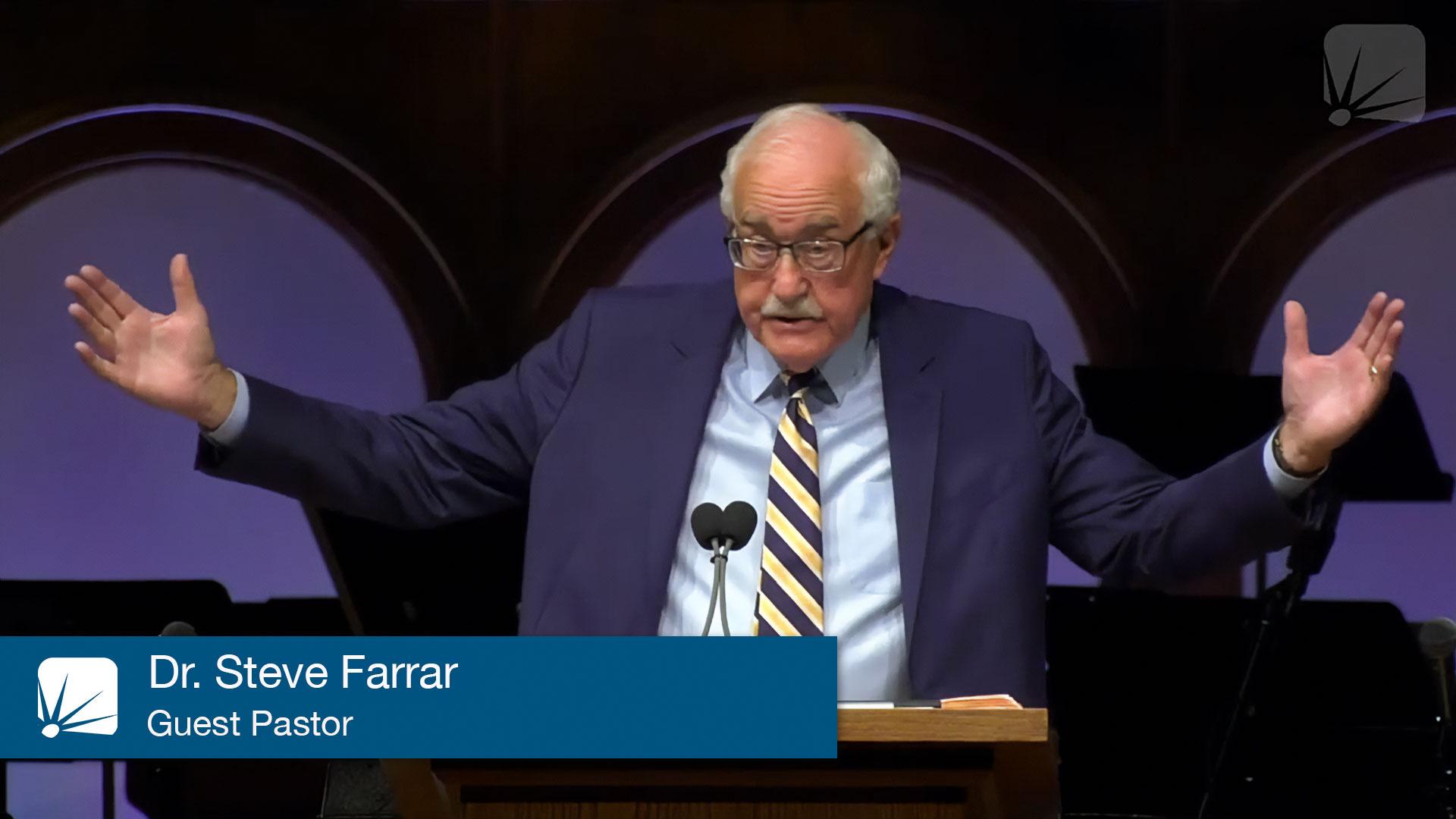 Dr. Steve Farrar