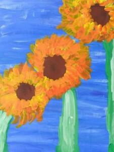Caleb's Sunflowers